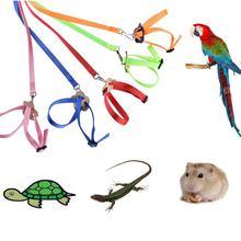 Регулируемая шлейка для птиц и поводков 8 видов уличный Летающий