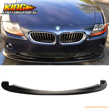 Fit For 2002-2005 BMW E85 Z4 Euro DS Style Poly Urethane Front Bumper Lip Spoiler image