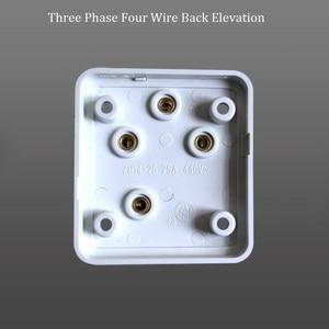 Image 5 - 10A/16A/25A 250 فولت/440 فولت ثلاث مراحل أربع أسلاك و مرحلة واحدة ثلاثة القطب لتقوم بها بنفسك قابس طاقة صناعية مقبس سطح جبل المخرج