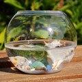 2 шт. упак. диаметр = 15 см Большой размер плоский рот стеклянный террариум Рыбная чаша стеклянный аквариум домашний декоративный стеклянный ...