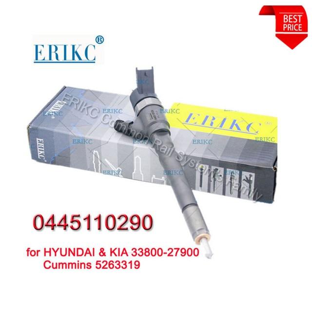 ERIKC wtryskiwacz 0445110290 Auto części CRI silnik wysokoprężny 1.5 Crdi wspólne wtryskiwacz szynowy zestaw do Body 0 445 110 290 dla Cummins 5263319