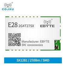 Модуль sx1281 lora uart 24 ГГц 27 дБм беспроводной последовательный