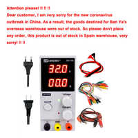 LW3010D laboratory power DC adjustable regulated power supply digital mini 30V 10A switching power supply 110V 220V EU US PULG