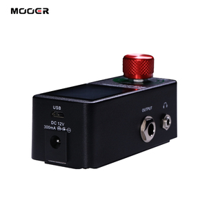Image 3 - MOOER Radar Simulator Guitar Effect Pedal 30 Speaker Cab Cabinet Models 11 Mic Models 36 User Presets Customizable EQ stage