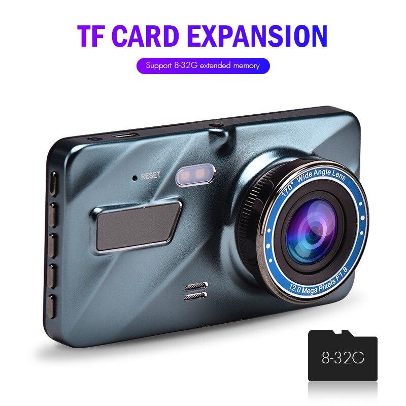 "J16 Car DVR Dash Camera Rear View Dual Camera Video 1080P Full HD 3.6"" Cycle Recording Night Vision G-sensor Wide Angle Dashcam 2"