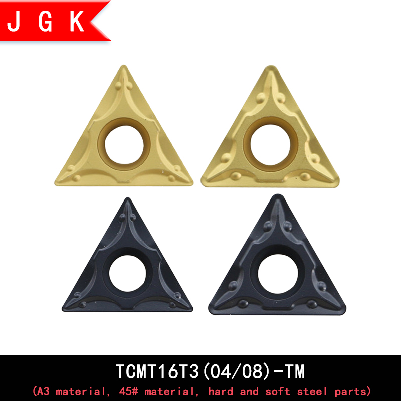 High Quality TCMT Triangular Insert TCMT16T3 TCMT16T304 TCMT16T308 TM Insert Carbide Metal Insert For Hard And Soft Steel Parts