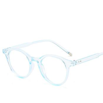 Okrągłe anty-niebieskie światło ramki okularów dla kobiet okulary do komputera ramki okularów dla mężczyzn okulary na receptę kobiet tanie i dobre opinie KOTTDO Unisex Z tworzywa sztucznego Stałe 5212