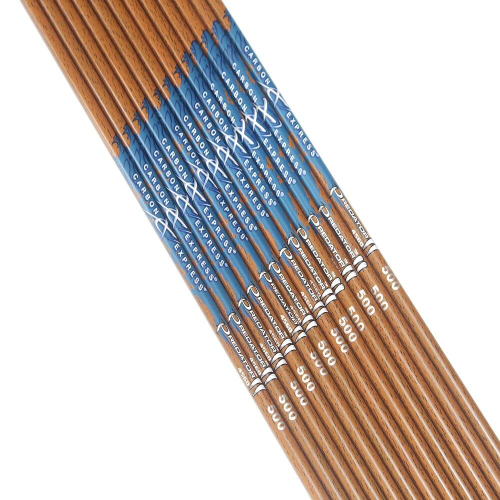 600 eixo setas de carbono madeira pele 05