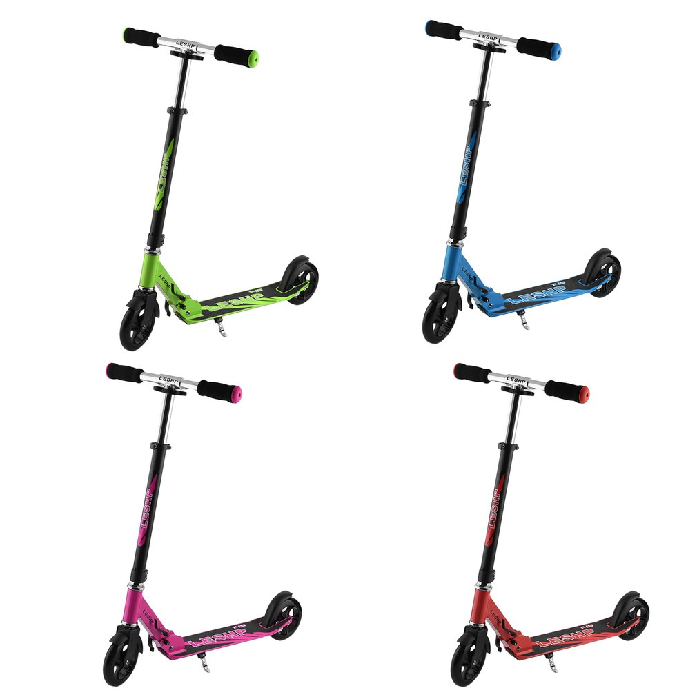 145MM Wheel Scooter Height Adjustable Adult Kick Scooter Portable Folding Urban Transportation Smart Scooter