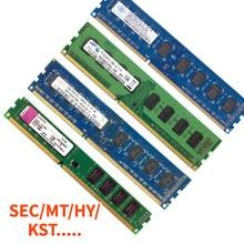 Escritorio Ram DDR3 DDR2 2G 1333, 800, 1066 MHz de 10600 de 12800 a 8500 240pin1.5V AMD/intel dimm cpu PC placa base