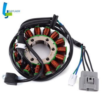 Motorcycle Generator Stator Coil 32101-33H00 for Suzuki LTZ400 Quadsport Z400 2009 2012 2013 2014 2015 2016