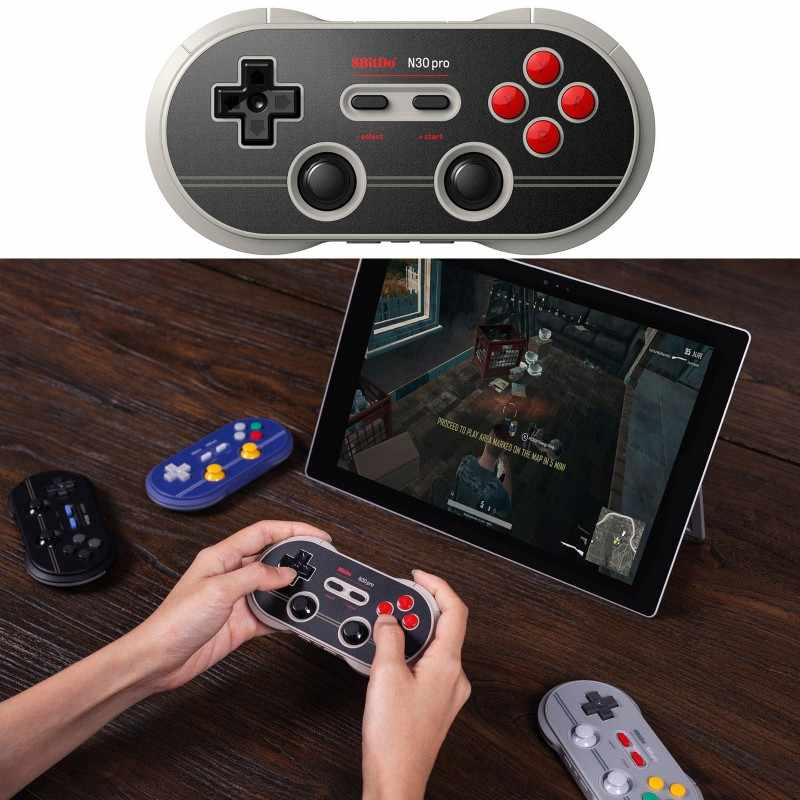 8Bitdo N30 Pro 2 Bluetooth Gamepad (N Edition) Switch PC Android Raspberry Pi