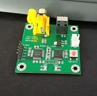 DYKB Weiche kontrolle AK4118AEQ empfänger bord coaxial faser zu I2S ausgang 24Bit 192kHz 16 24bit 44 1 192 kHz|Batteriezubehörteile und Ladezubehör|   -