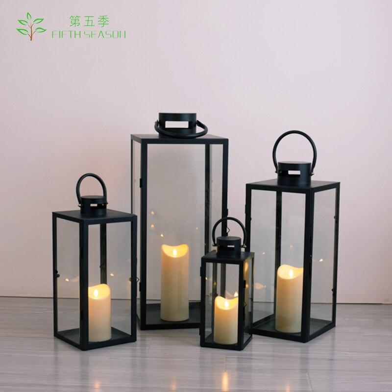 Candle Holders Iron Lantern