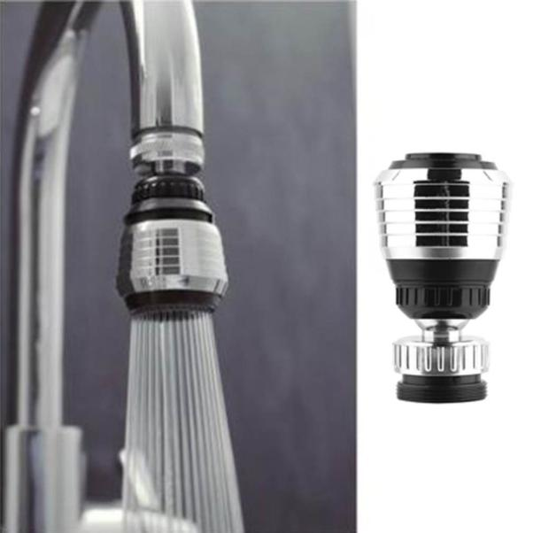Kitchen Faucet Aerator Water Diffuser Bubbler Zinc Shell Water Saving Filter Shower Head Nozzle Tap Connector 360 Rotate