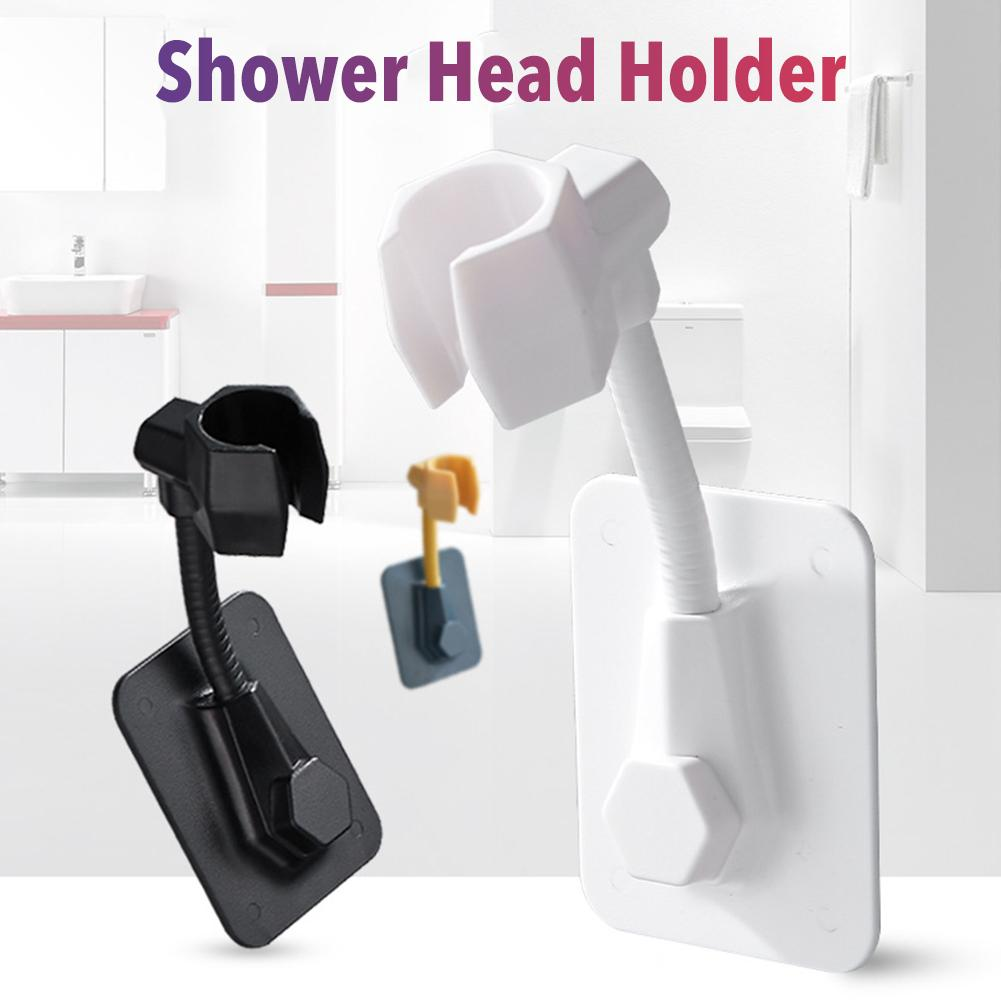 2020 New  High Quality Adjustable Bathroom Shower Head Stand Wall-mounted Portable Shower Head Holder Fixing Bracket