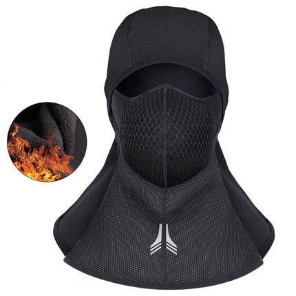 Motorcycle Face Mask Winter Windproof Thermal Balaclava Moto Moto Headwear Warm Face Masks Neck Lycra Fleece Scarfs Ski Headgear