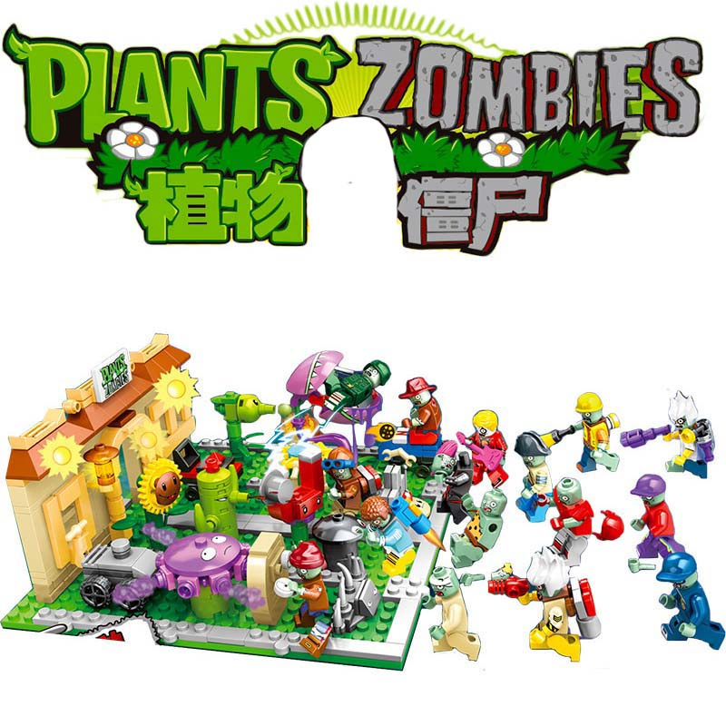 Military Series Superhero Series Plants Vs Zombies Mini Mutants Action Figures Toys  For Children Gifts