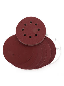 Sand-Sheets Disk Polish Loop-Sanding-Disc Eight-Hole 125mm Round 10pcs Grit Hook 60-2000