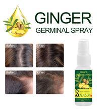 Имбирная сывороточная эсенция для лечения выпадения масла для роста волос против выпадения волос лечение поврежденных жидких волос TSLM