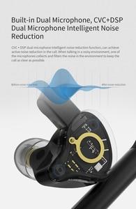 Image 5 - Kz E10 Беспроводные Наушники Aptx 10 Единиц Dd + 4BA Tws True Bluetooth 5.0 Сенсорная Гарнитура