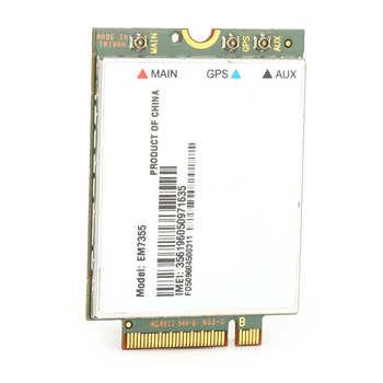 Bezprzewodowa karta sieciowa moduł 4G LTE WiFi PCIe M 2 NGFF EM7355 na pulpit laptopa gorąca sprzedaż tanie i dobre opinie YOUTHINK Other Wewnętrzny wireless ExpressCard Wireless Network Card
