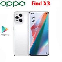 Resmi orijinal yeni OPPO X3 5G akıllı telefon Snapdragon 870 6.7 inç AOLED 50.0MP arka kamera 65W superVOOC Android11 OS NFC