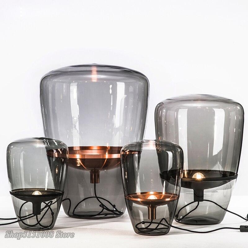 Современные воздушные шары Brokis, настольные лампы, скандинавские, для гостиной, со светодиодной подставкой, стеклянные, Настольные светильн