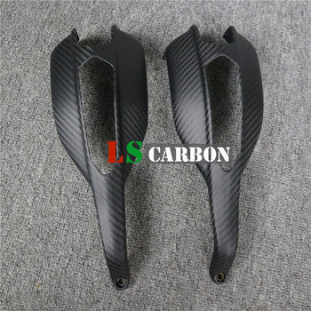 For Ducati Hypermotard 796, 1100 Full Carbon Fiber Motorcycle Accessories Handbar Grips radiator cover for ducati monster 696 795 796 full carbon fiber 100% twill