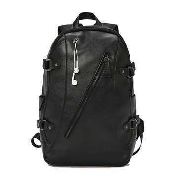 New Backpack Men\'s Backpack Student Bag Travel Backpack Leisure Bag Computer Bag Large Capacity