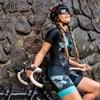 Kafitt das Mulheres Conjuntos de Manga Curta Camisa de Ciclismo Skinsuit Maillot Triathlon Ropa ciclismo Jersey Bicicleta Roupa Ir Macacão Verão 11