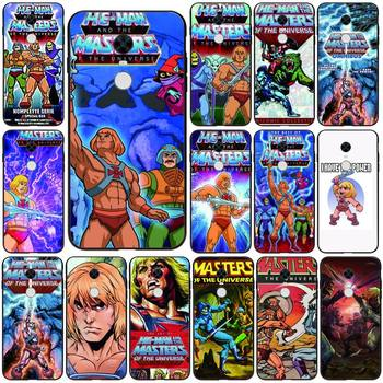 HE-MAN And The Masters Of The Universe Phone Case Black For Redmi 7A 4X 5 6 7 8 8A 5Plus GO Note 4/4X 7 K20/Pro Cases image
