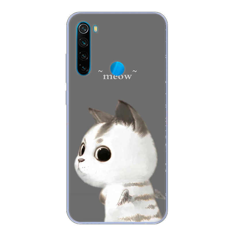 For Xiaomi Redmi Note 8 Case Cartoon Soft TPU silicon Back Cover For Redmi Note 8T Protective Phone Cases Redmi Note8 Note8 8 T