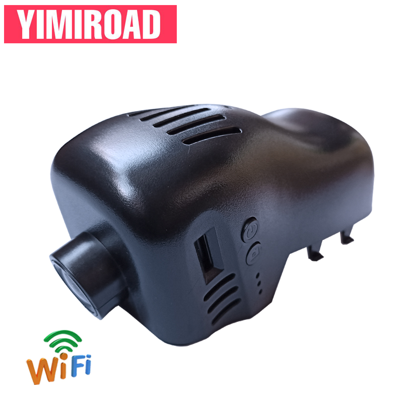 YIMIROAD HiSilicon Hi3516 VW2-E Wifi Car DVR For Volkswagen Touareg 7P Tuareg NF 2011 To 2016 Y Auto Video Recorder Dual Dashcam image