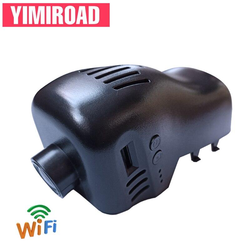 YIMIROAD-HiSilicon Hi3516 | Voiture Wifi DVR pour Volkswagen Touareg 7P Tuareg NF 2011 à 2016 ans, enregistreur vidéo automatique, double Dashcam