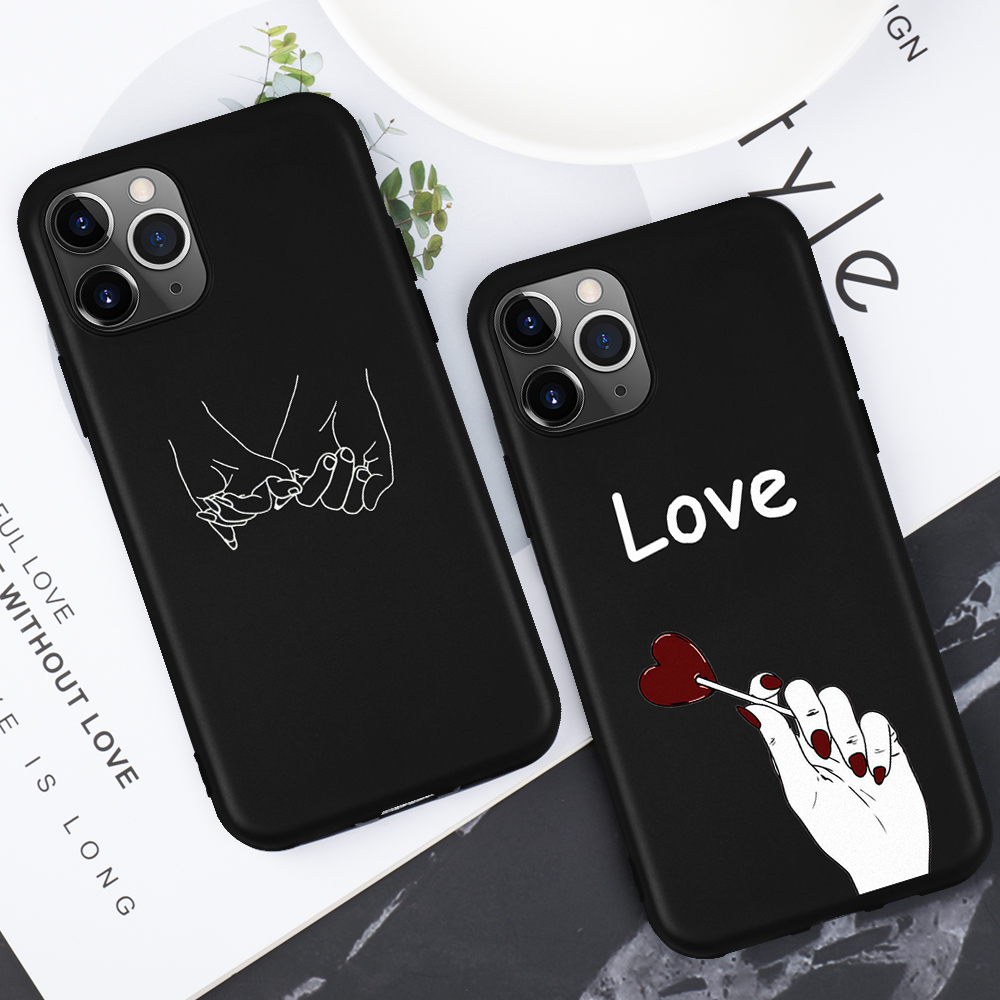 Premium For iPhone 11 Pro Max 2019 Silicone Star Planet Love Heart Phone Case For iPhone 11 2019 Ultra Thin Soft Pattern Cover