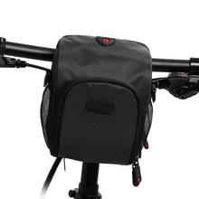 Bicycle Scooter Head Bag Folding Handlebar Bike Saddle Car Seat Riding Shoulder Waterproof Phone Front B