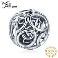 JewelryPalace 925 Sterling Silver Beads Charms Silver 925 Original For Bracelet Silver 925 original Beads For Jewelry Making