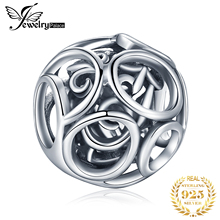 JewelryPalace 925 Sterling Silver Beads Charms Original For Bracelet original Jewelry Making