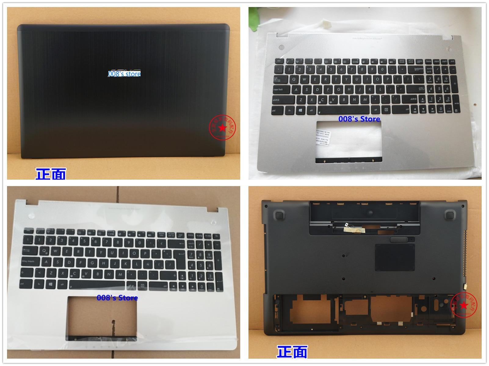 New Cover For Asus N56J N56JN N56Jk N56JR N56JP 13NB04Z1AM0201 LCD Back/Palmrest/Bottom Base/Memory Hard Disk Case/keyboard
