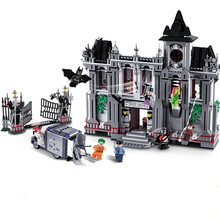 цена на Super Heroes Movie Series The Batman Asylum Breakout Sets 07044 Model Building Blocks Bricks Compatible with legoing 10937 Toys