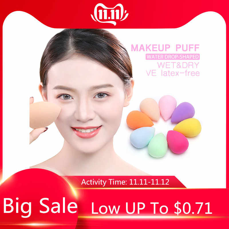 New Air Cushion Puff Powder Makeup Sponge For Foundation BB CC Cream Contour Facial Smooth Wet Dry Make Up Beauty Tools TSLM1