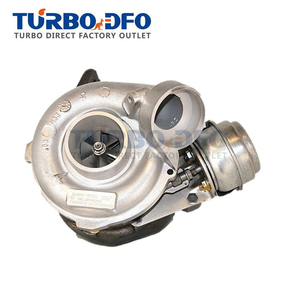 Cartridge turbo core GT2256V Mercedes E 270 CDI W210 125Kw 170HP OM612 1999