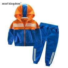 Mudkingdom/комплекты для маленьких мальчиков и девочек на осень