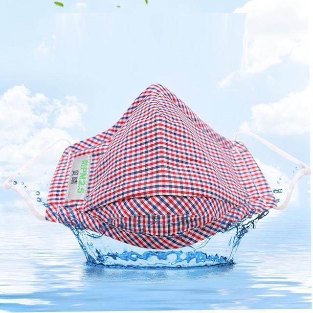 1 pc Unisex Print Washable Ear Protection Cotton Anti Dust Mask Adjustable Masks face mask flu bacterial 3
