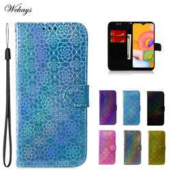 На Алиэкспресс купить чехол для смартфона colorful flip wallet case for samsung galaxy a11 a31 a41 m11 m31 pu leather phone case back cover fundas for samsung a41 case