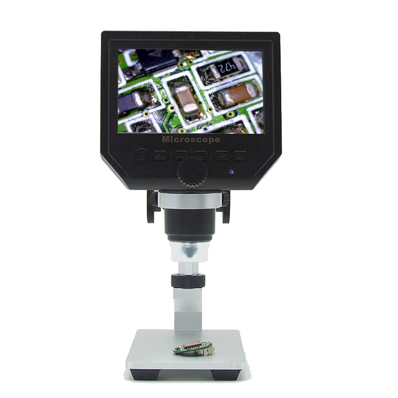 600X digital microscope 4.3 inch HD LCD soldering Tool electronic video microscopes bga phone repair USB Stand Magnifier Camera