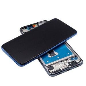 Image 2 - 100% oryginalny wyświetlacz dla Huawei Honor 10 Lite LCD + rama ekran dotykowy wyświetlacz Digitizer dla honor 10i Lcd HRY LX1 HRY LX2 LCD