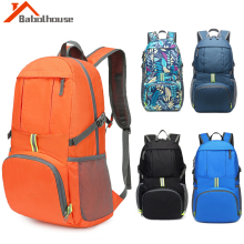 Packable Light Weight Backpacks Breathable Outdoor Travel Backpack Waterprrof Nylon Canvas Bag Climbing Storage Bags Rucksack цена 2017
