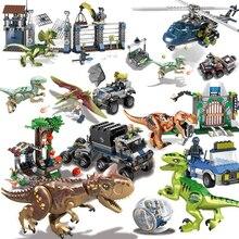 ไดโนเสาร์DIYบล็อกไดโนเสาร์Tyrannosaurus Rex Tinyรุ่นBuilding Blockของเล่นสำหรับเด็กCreatorสัตว์ของขวัญเด็ก